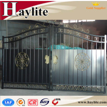 wrought iron small garden villa gate